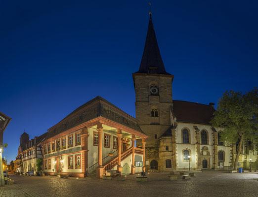 Freinsheim in der Blauen Stunde
