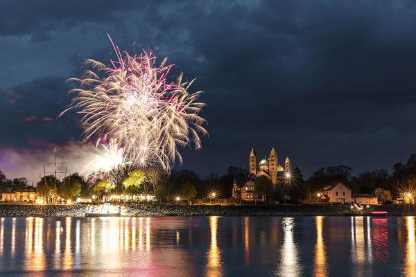 Feuerwerk in Speyer