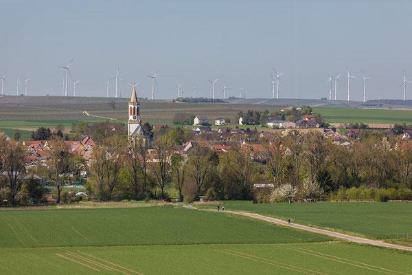 Blick auf Gau-Odernheim