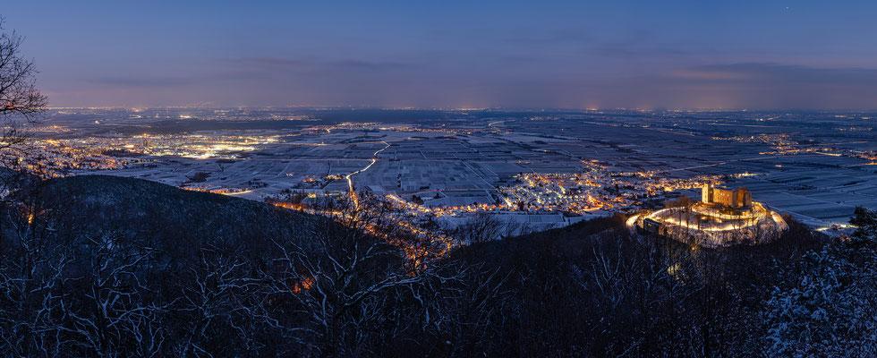 Winterabend auf dem Sühnekreuz