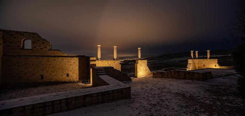 Nachts an der Römerkelter
