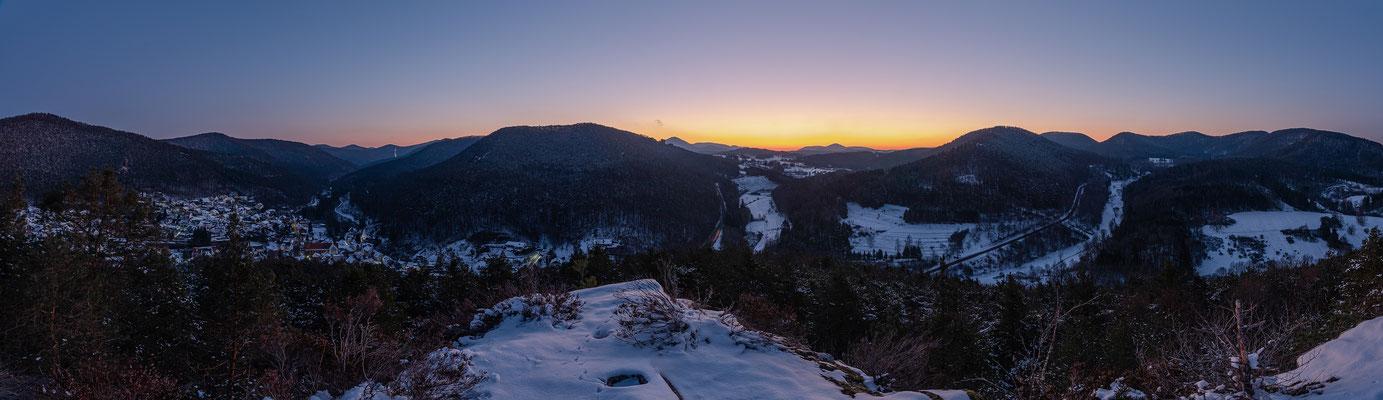 Morgenstimmung am Nesselberg