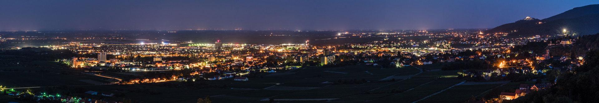 Nachtpanorama Neustadt