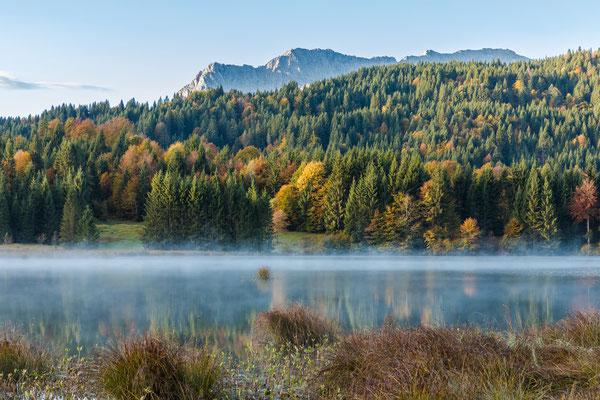 Morgens am Geroldsee