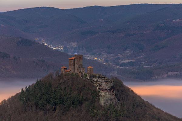 Mondnacht am Rehbergturm