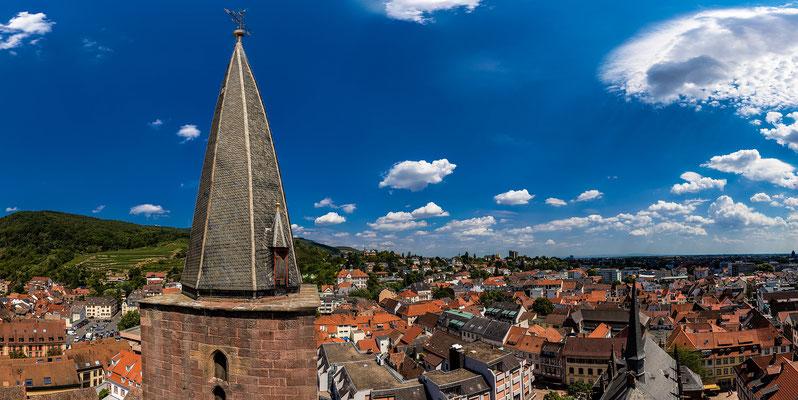 Ausblicke vom Turm der Stiftskirche