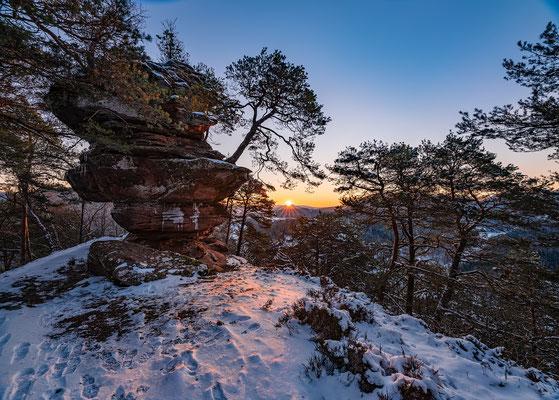 Sonnenaufgang am Nesselberg