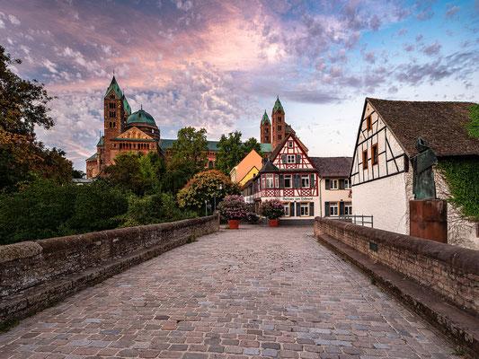 Morgenstimmung am Speyerer Dom