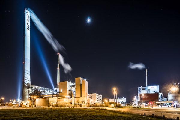MVV Mannheim im Mondschein