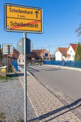 Altes Zollhaus und Grenzübergang zum französischen Scheibenhart