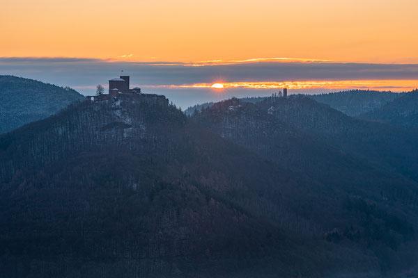 Wintermorgen auf dem Sommerfels