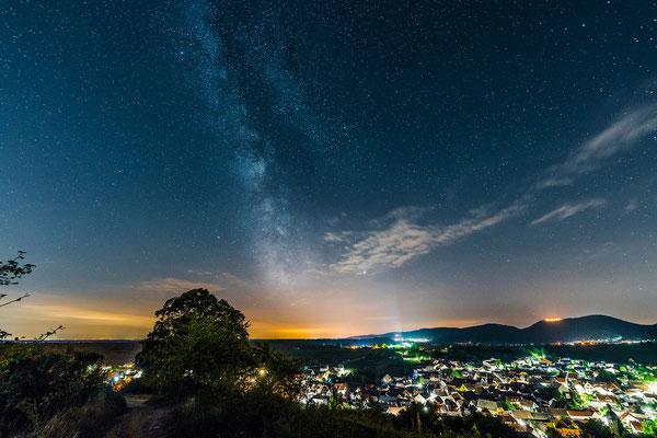 Milchstraße an der Kleinen Kalmit