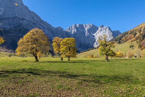 Herbststimmung am Ahornboden