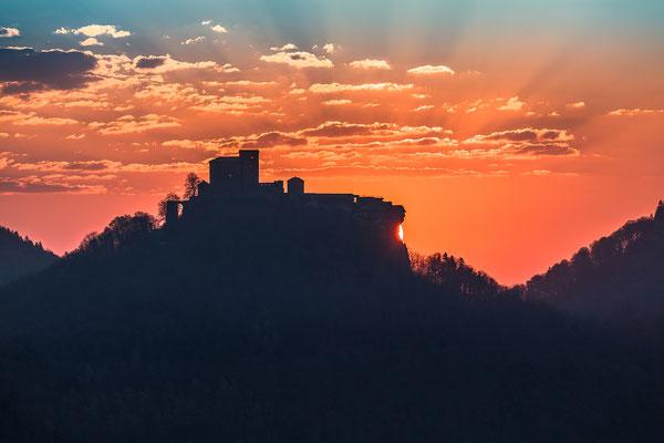 Sonnenaufgang am Wachtfelsen