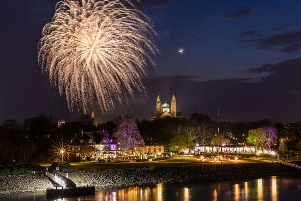 Feuerwerk Frühjahrsmesse in Speyer