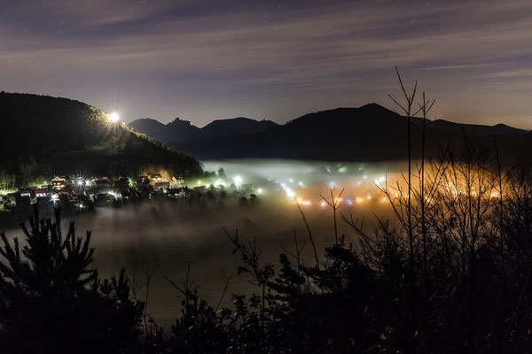 """""""Weihnachtsbeleuchtung"""" in Wernersberg"""
