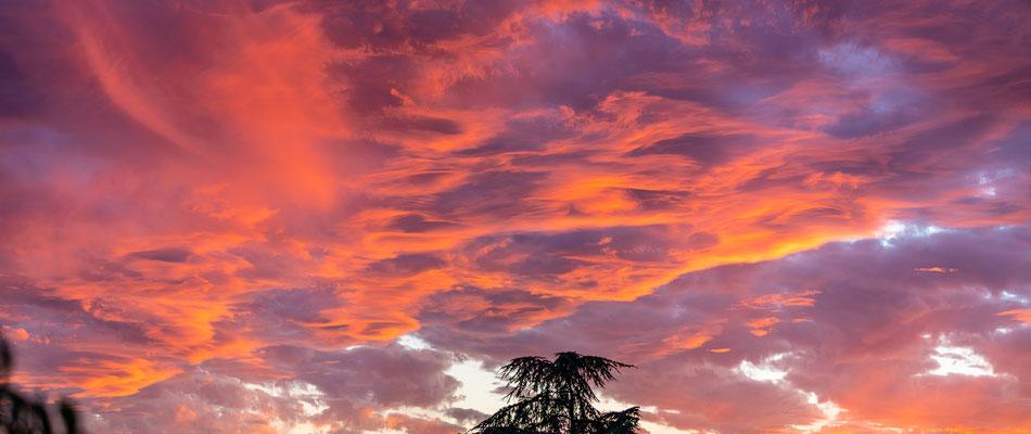 Sonnenuntergang bei Neustadt