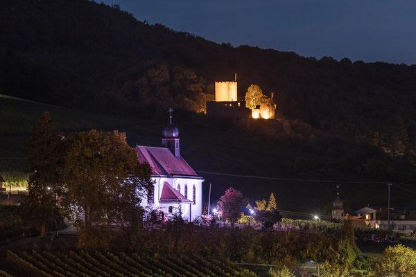 Dionysiuskapelle Gleiszellen-Gleishorbach und Ruine Landeck