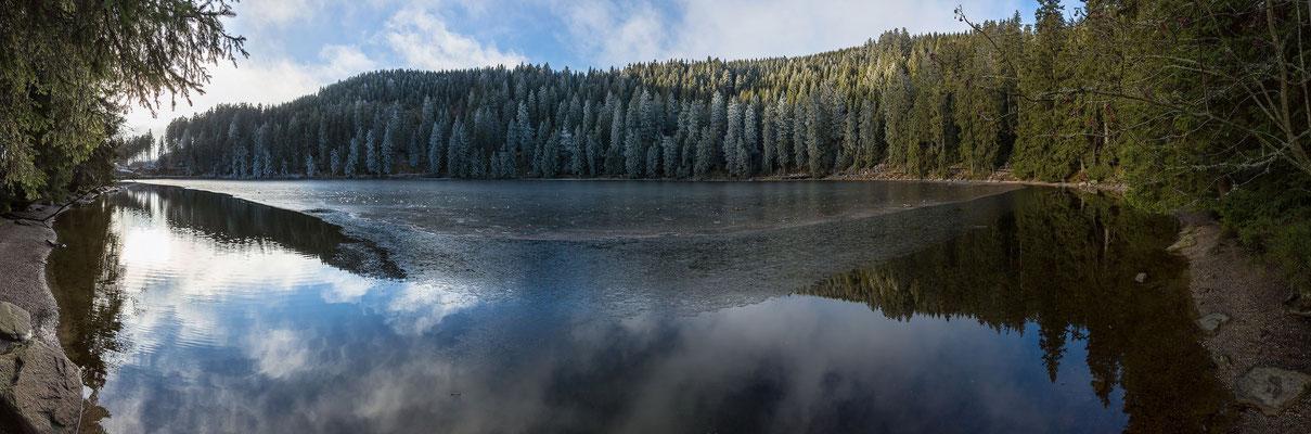 Überblick über den Mummelsee