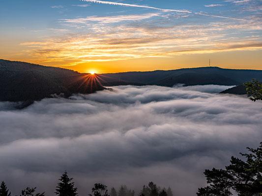 Nebelmorgen über Lambrecht