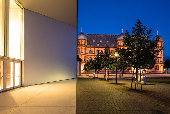Blaue Stunde am Gottesauer Schloss