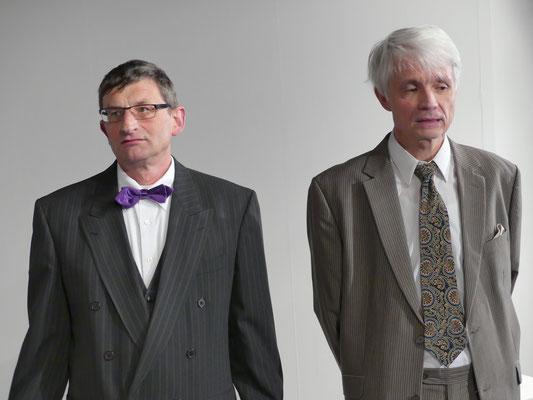 Dr. Chumley (Dietmar Kuhlemann) und Elwood P. Dowd (Thomas Gerner).