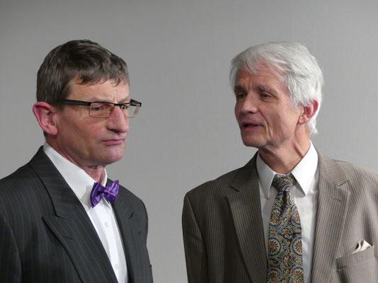 Dr. Chumley und Elwood P. Dowd.