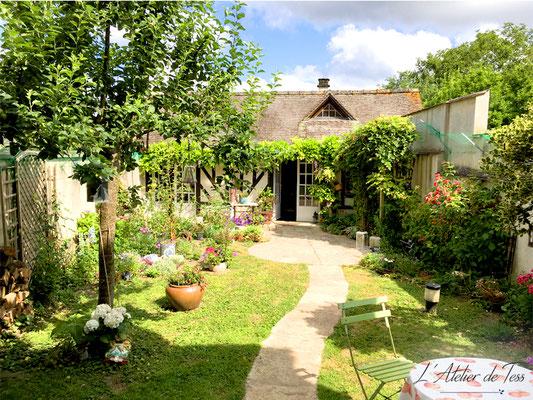 Jardin de l'Atelier de Tess - Petit-déjeuner