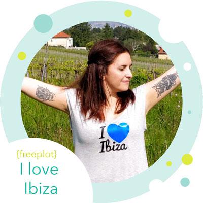 Gratis Plot: I love Ibiza