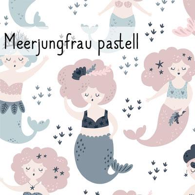 Meerjungfrau pastell