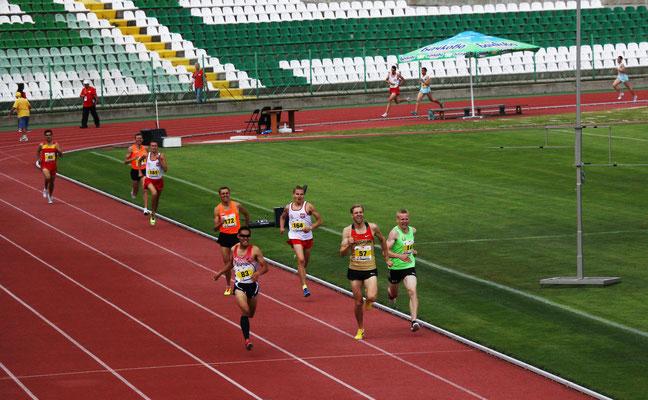 Endspurt 1500m Finale
