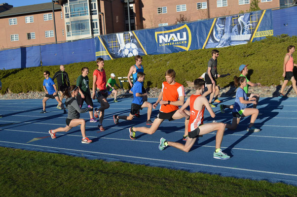 Training in der Northern Arizona University (NAU)