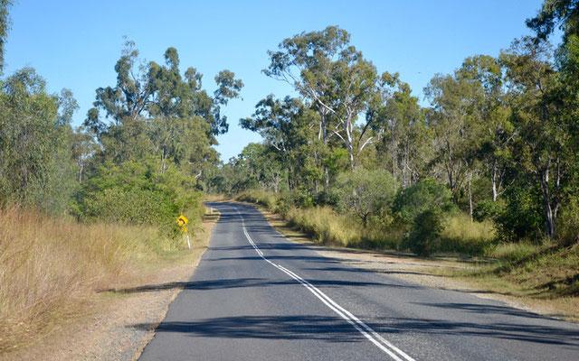 Straße von Hervey Bay nach Agnes Water