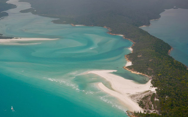 Hill Inlet auf den Whitsunday Islands