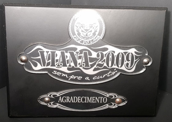 AGRADECIMENTO FOZ LIMA 2009