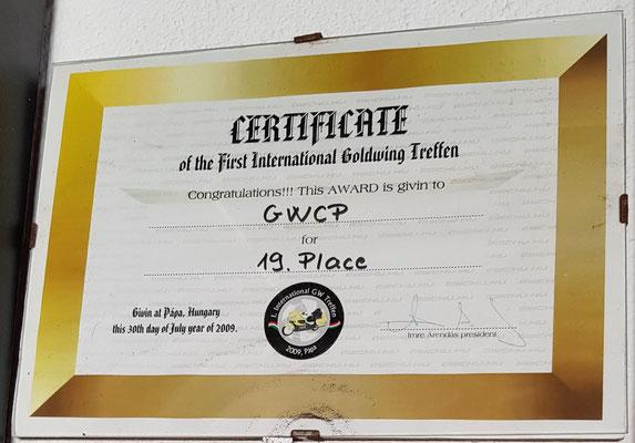 GWCHU 1 2009