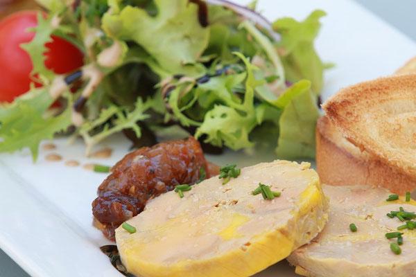 foie gras oignons confits