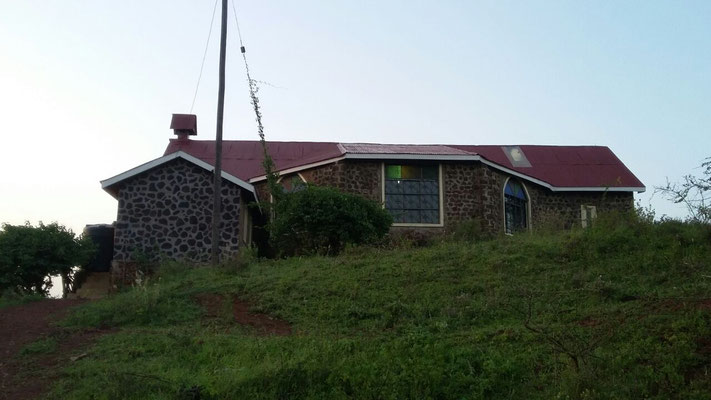 """Mahoo church"" in Taveta"