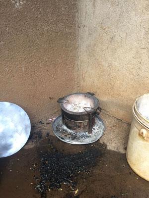 Eine weitere Kochstelle