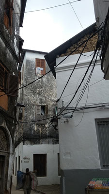 enge Gasse in Stone Town