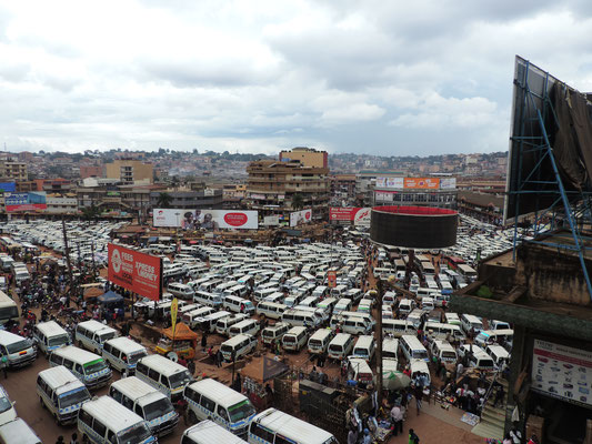Old Taxi Park in Kampala