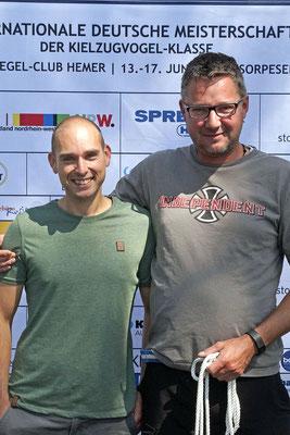 Rang 6 Jens Liebheim und Benjamin Auerbach