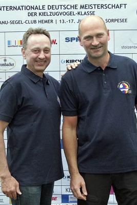 Rang 2 Frank Suchanek und Frank Liefländer