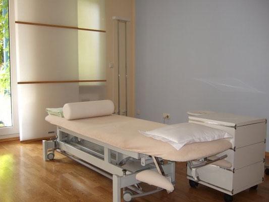 Behandlungs Zimmer in Starnberger Praxis