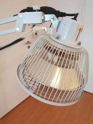 Infrarot Lampe gegen Verspannungen