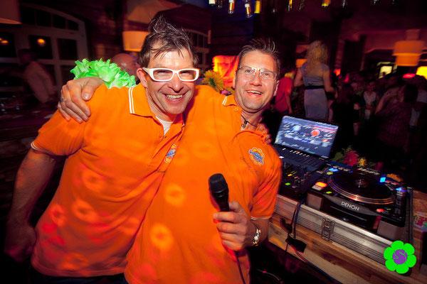 Das Sunshine Music DJ Team bei Schlager an der Spree