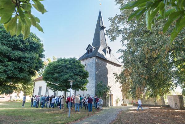 Auf den Spuren des alten Postmeisters Baller. 21. September 2019 in Bönnien. Foto: Markus Becker