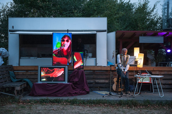 ...Kontaktlinien. 8. September 2018 in der Braumanufaktur, Hildesheim. Foto: Daniel Kunzfeld