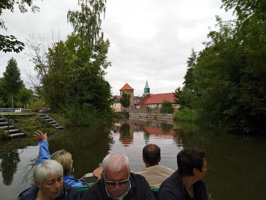Geschichte vom Wasser aus. 21. Juli 2019 in und um Gronau