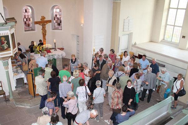 Liebenburger Orgelnacht. 24. August 2019 rund um Liebenburg. Hier: Klein Döhren. Foto: Dirk Glufke